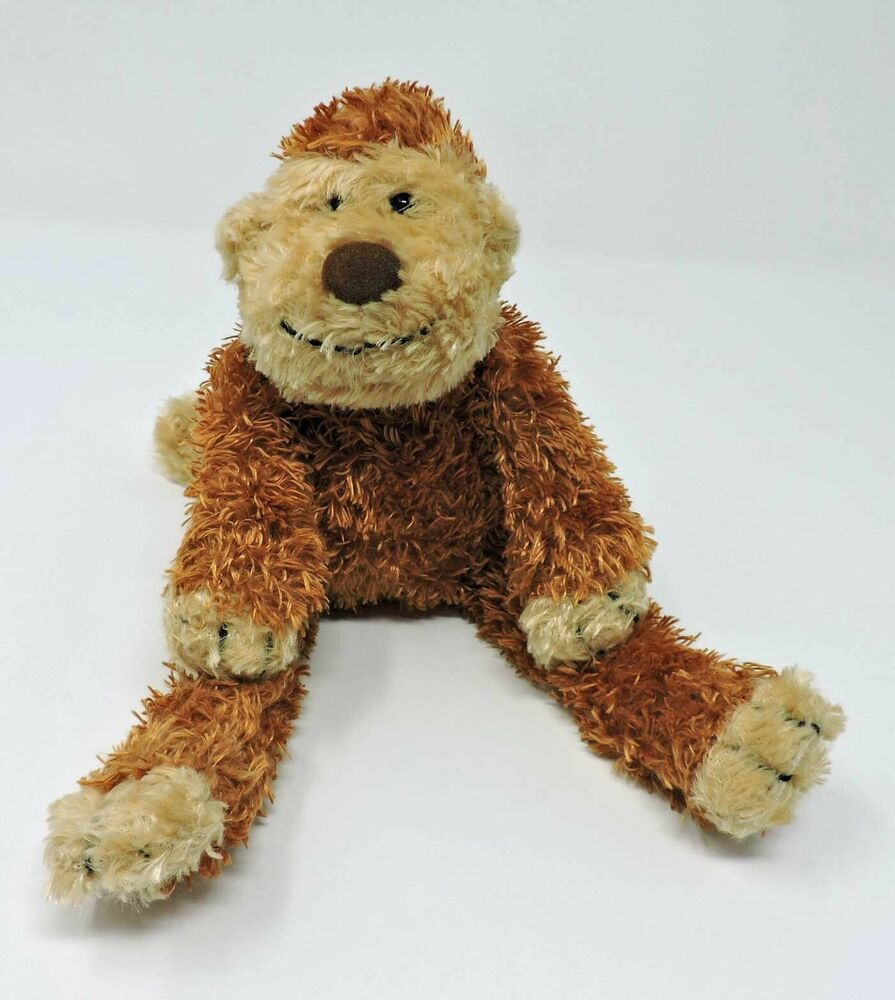 Jellycat Monkey Marvin Junglie 9 Toy Bunglie Chimp Brown Tan Stuffed Animal Jellycat In 2020 Monkey Stuffed Animal Jellycat Monkey Plush
