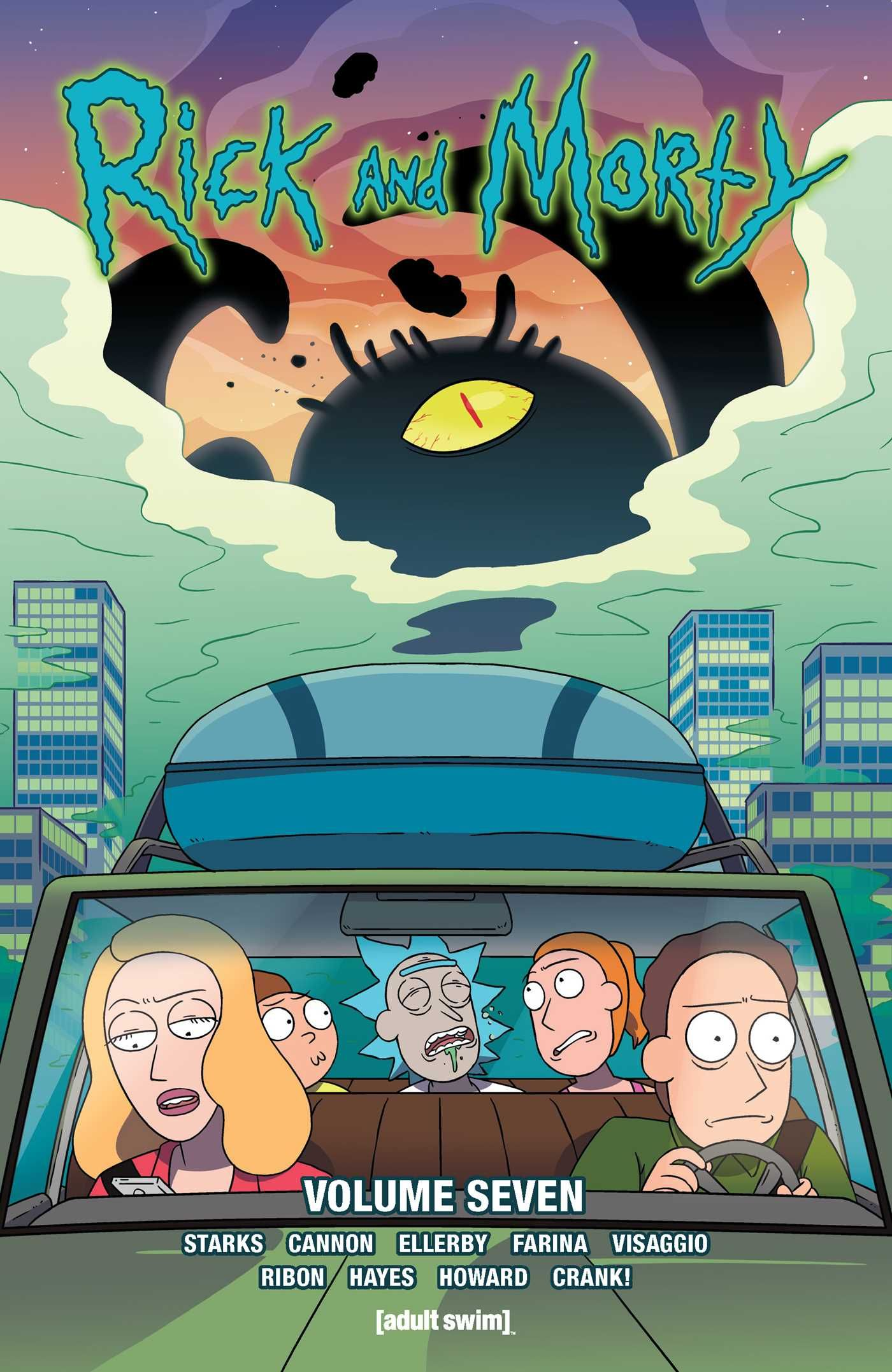 Rick And Morty Comics Volume 7 Comics Rickandmorty Vol7 Ad S