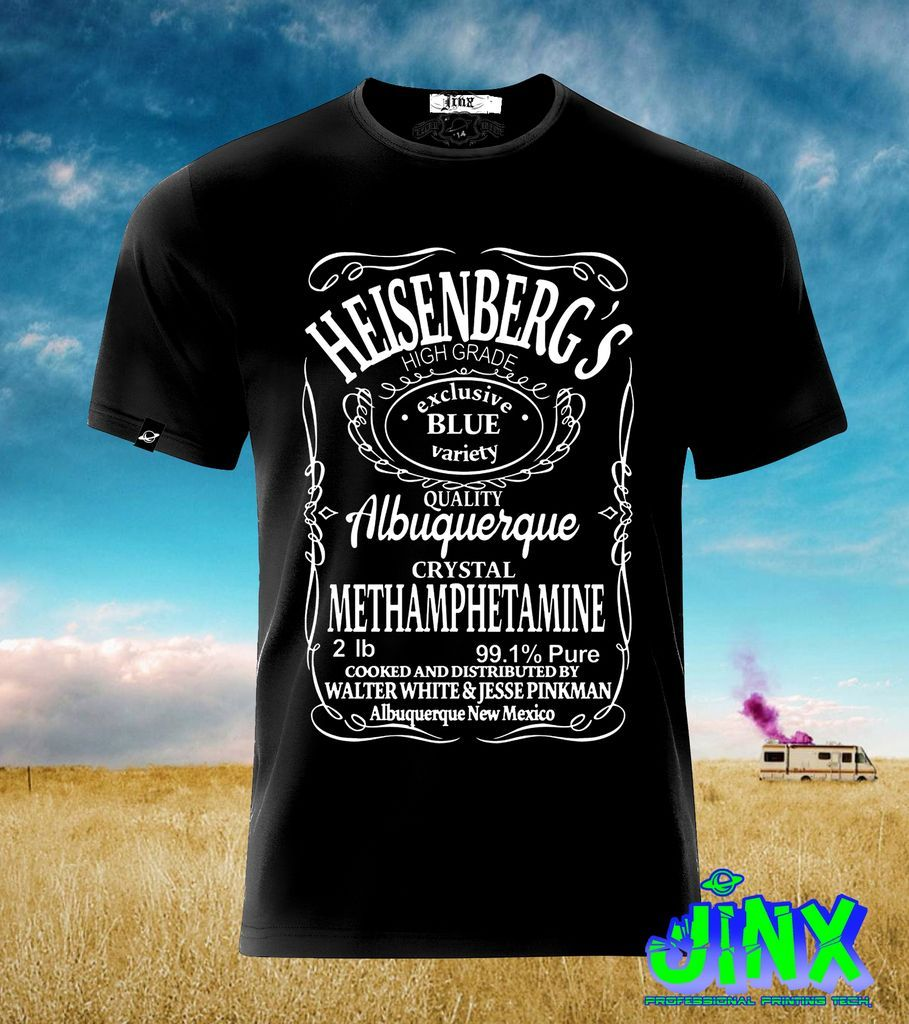 57a778da51feb  179.00 Playera o Camiseta Heisenberg Daniels Breaking Bad