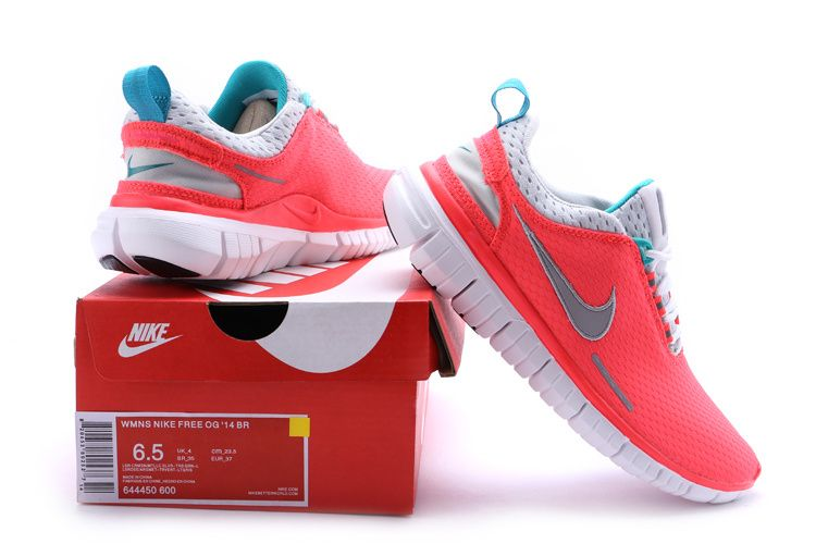 pretty nice 1c628 4e25c NIKE FREE OG  14 BR Womens Shoes Red Grey http   www.