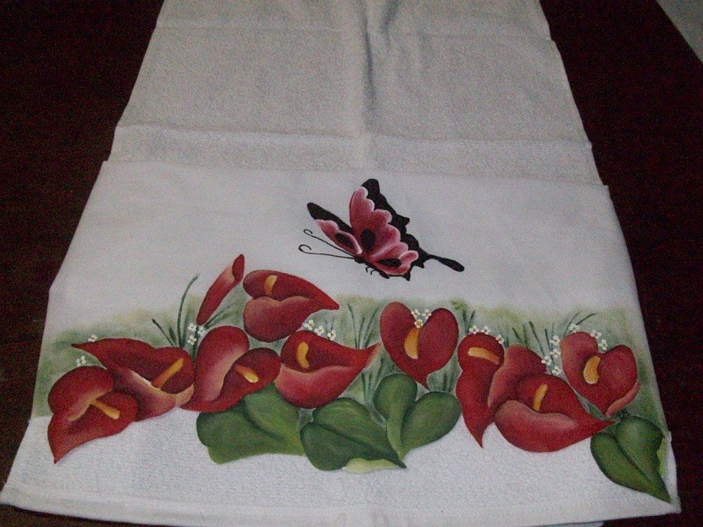 Para pintar en telas pinturas sobre telas dibujos de flores para 4 monedeross pinterest - Flores de telas hechas a mano ...