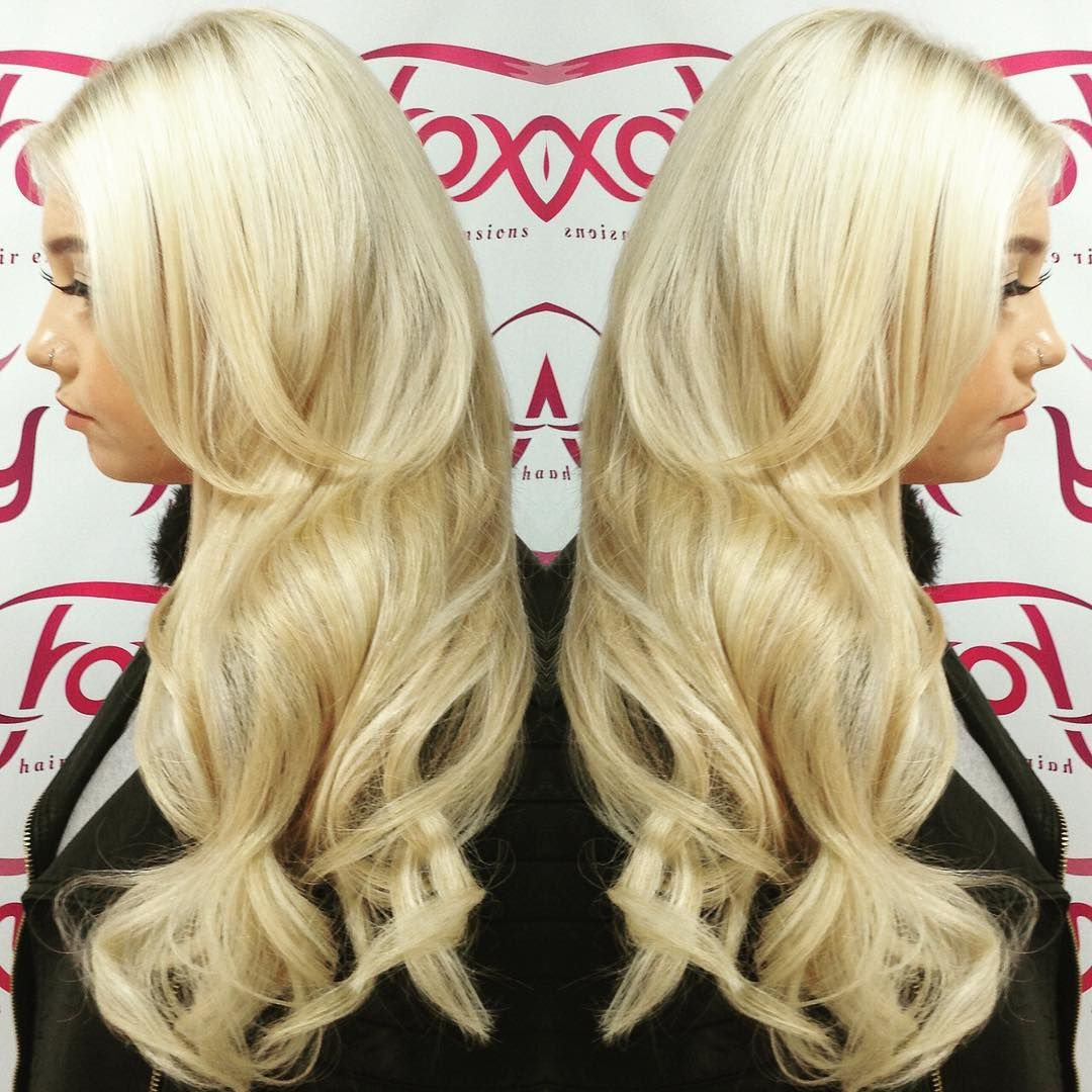 A Full Head Of Mini Link Hairextensions Fitted On Our New Client