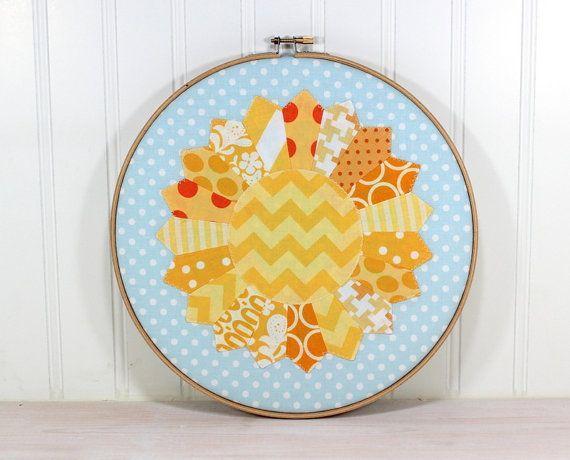Scrab Buster // Nursery Decor - Embroidery Hoop Wall Art - Dresden ...