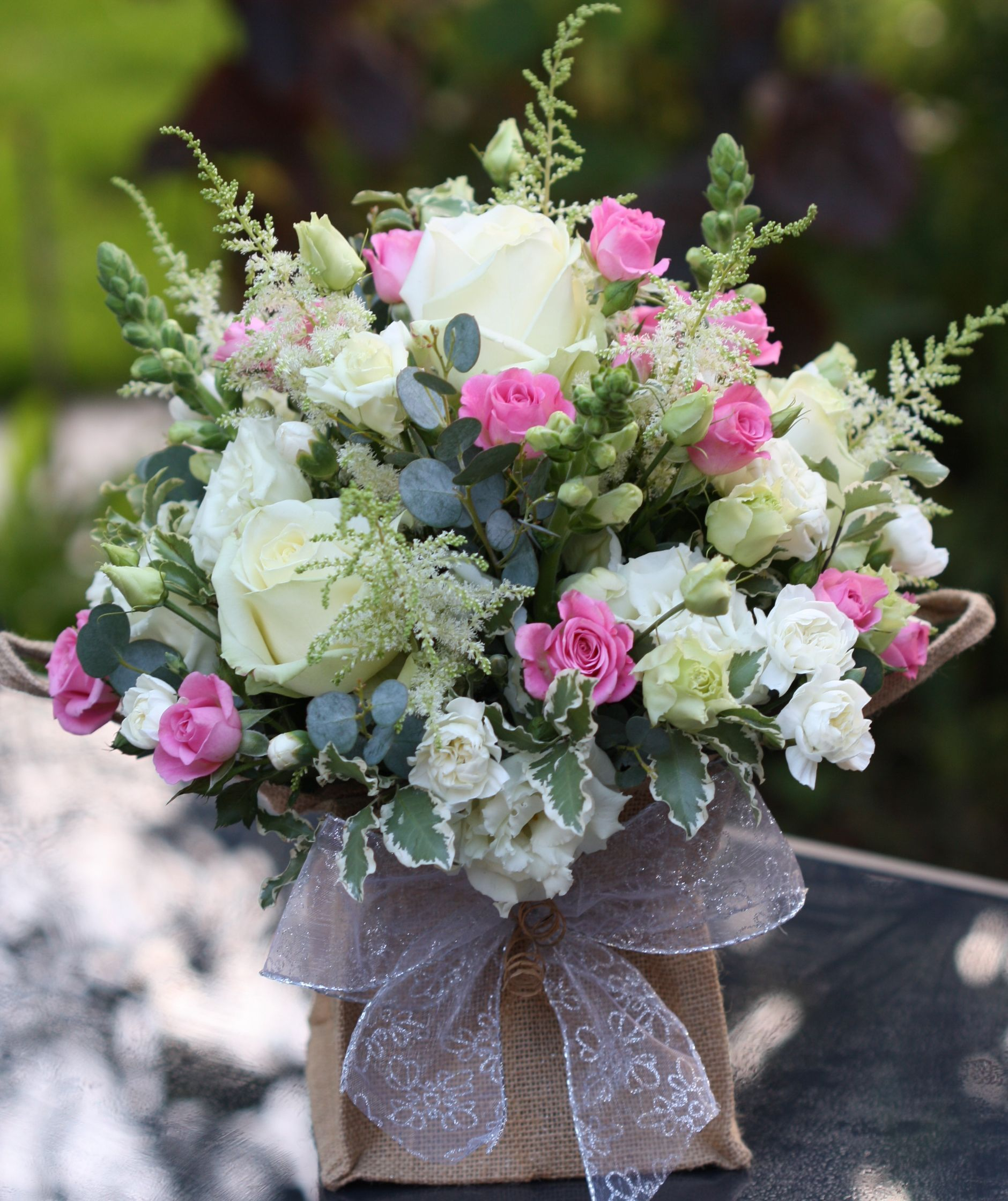 Silver Wedding Anniversary Flowers By Pip Of Willow Floristry Www Willowfloristry Co Uk Www Facebook Com Wil Anniversary Flowers Flower Arrangements Floristry