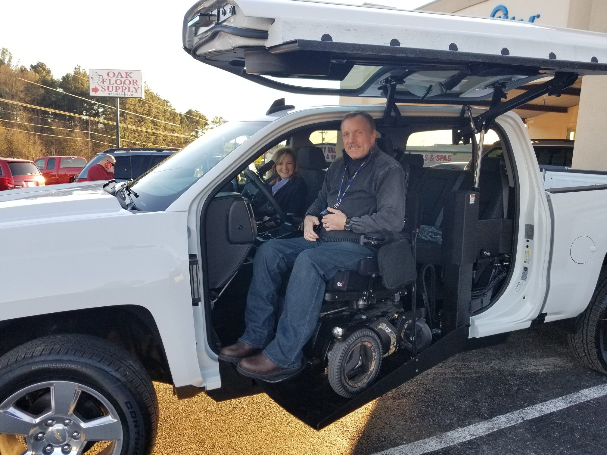 Another happy customer Wheelchair accessible vehicle