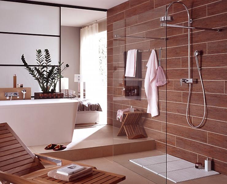 Fliesen in Holzoptik | Fliesen, Badezimmer fliesen und Badezimmer