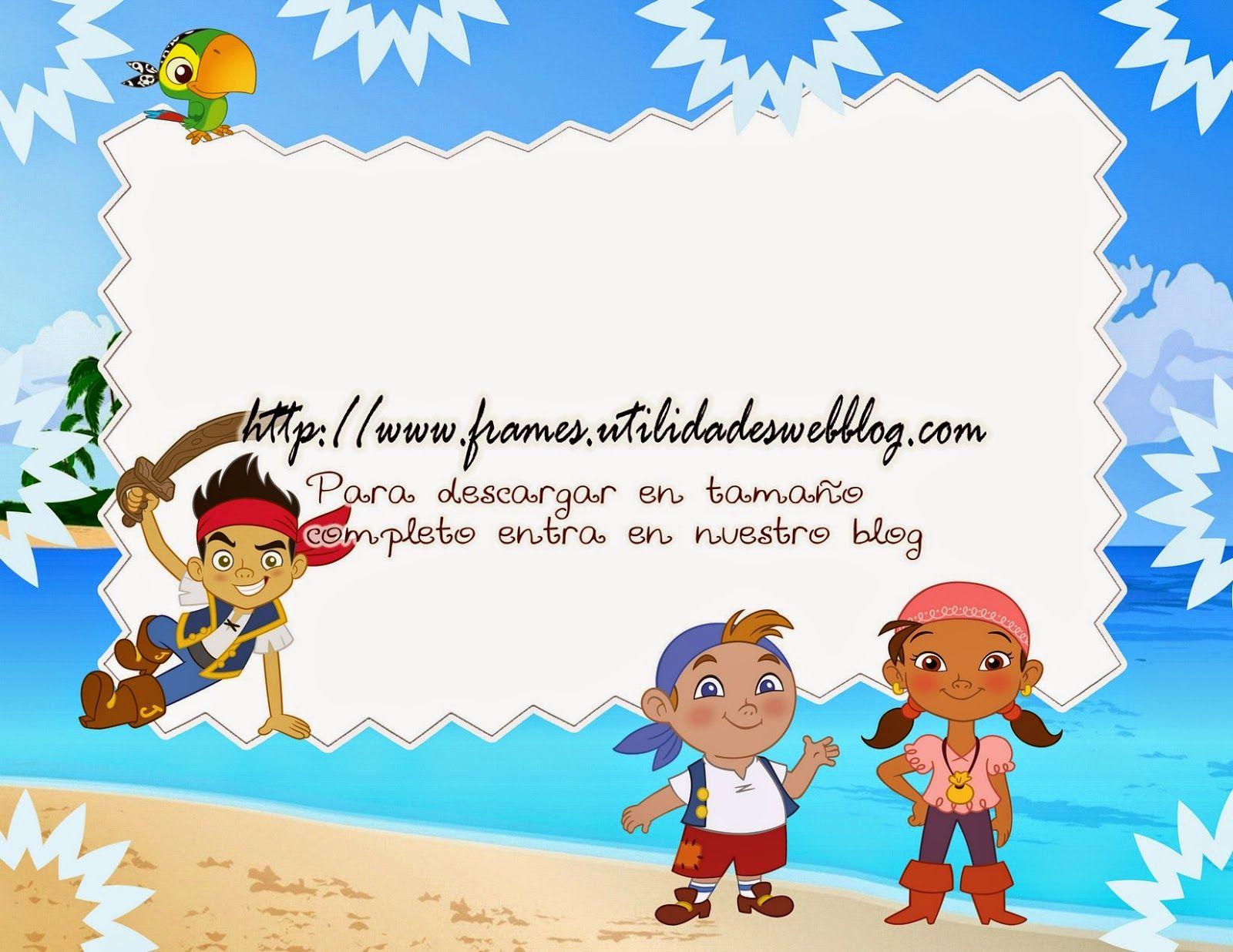 Decoraci n jake y los piratas de nunca jam s pictures to pin on - Marco Para Fotos De Jake Y Los Piratas De Nunca Jamas Photo Frames
