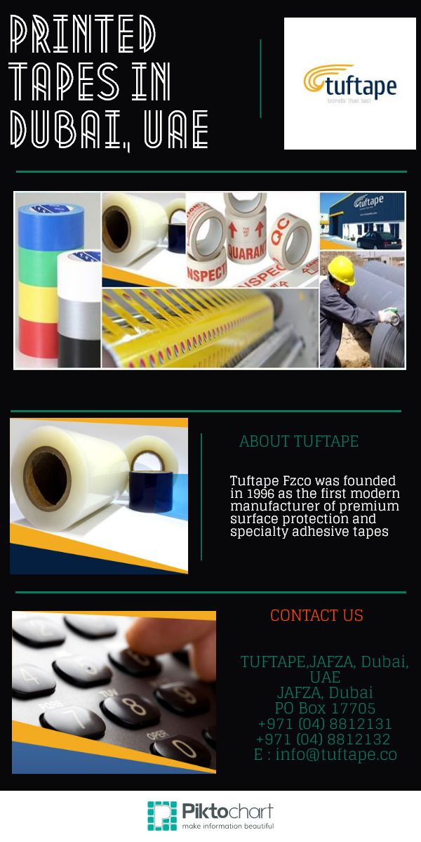 Tuftape is the first modern manufacturer of surface protection films and Adhesive Tapes in order to meets the demands of booming constructional and industrial economies of world. They have introduced high quality range of adhesive tapes that are multi utility and meet all the customized demands. http://www.tuftape.co/products/surface_protection/coated_uncoated_metals