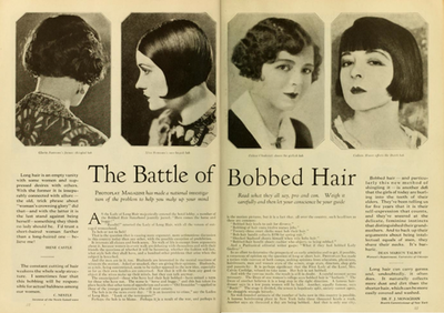 #lulufrost, #letsbringback Bob your hair. (From Anne Helen Petersen's look at Photoplay Magazine.)