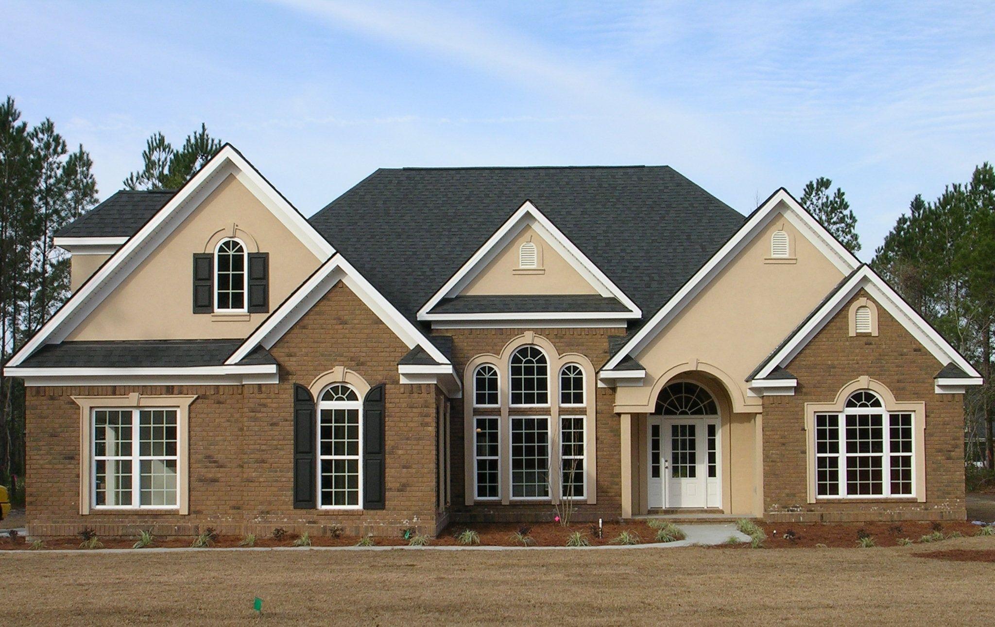 Private residence milan face brick carolinaceramics for Face brick homes