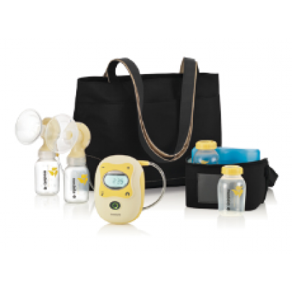 Evenflo Deluxe Advanced Double Electric Breast Pump w//Travel Bag /& Cooler 937509