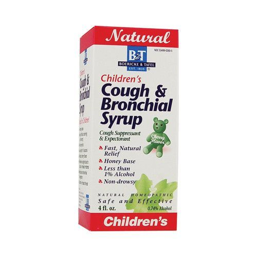 Boericke And Tafel Childrens Cough And Bronchial Syrup