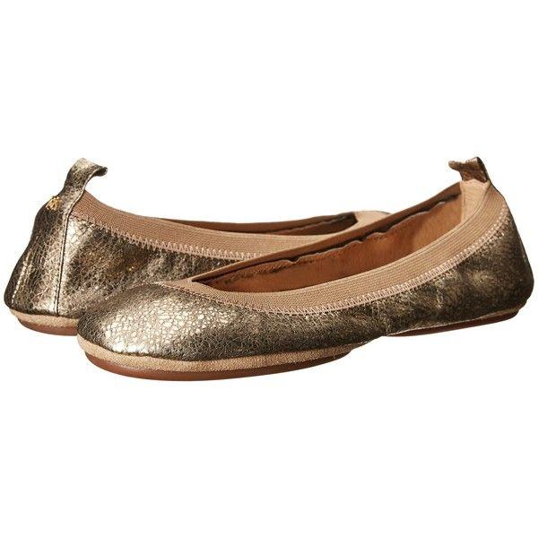 Womens Flats Yosi Samra Nappa Leather Ballerina Flats Flats Clearance sale