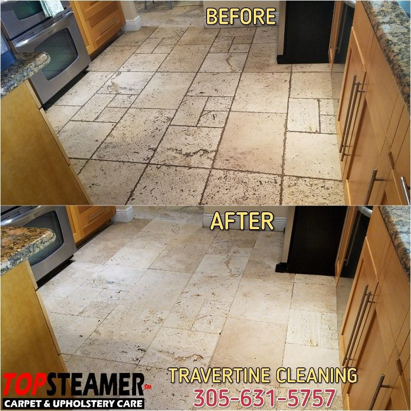 Travertine Floor Cleaning in Miami 3056315757 Clean