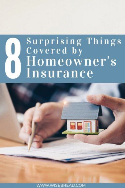 8 Surprising Things Covered by Homeowner's Insurance