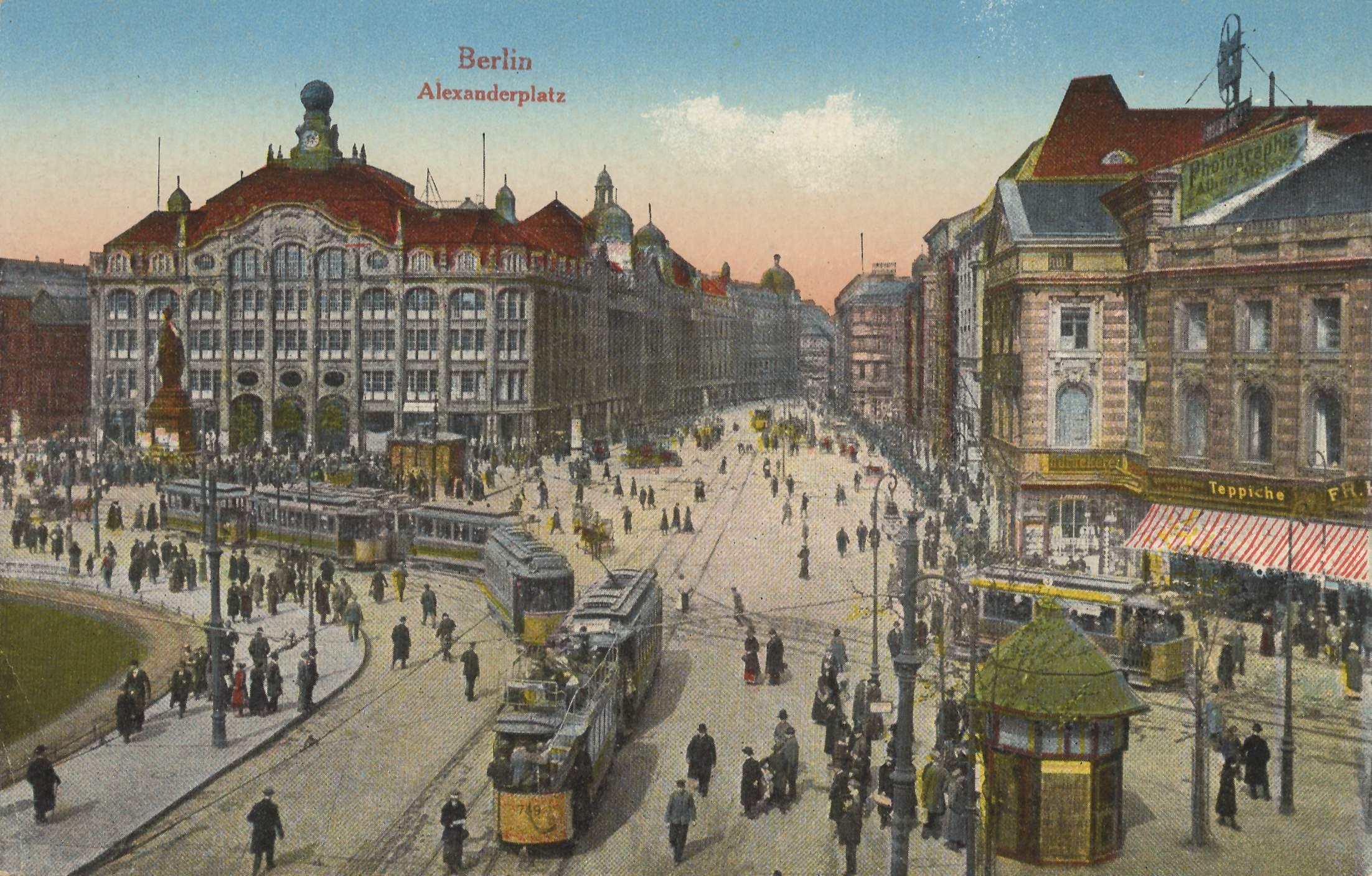 Berlin Alexanderplatz Um 1900 Reiseziele Bilder Berlin