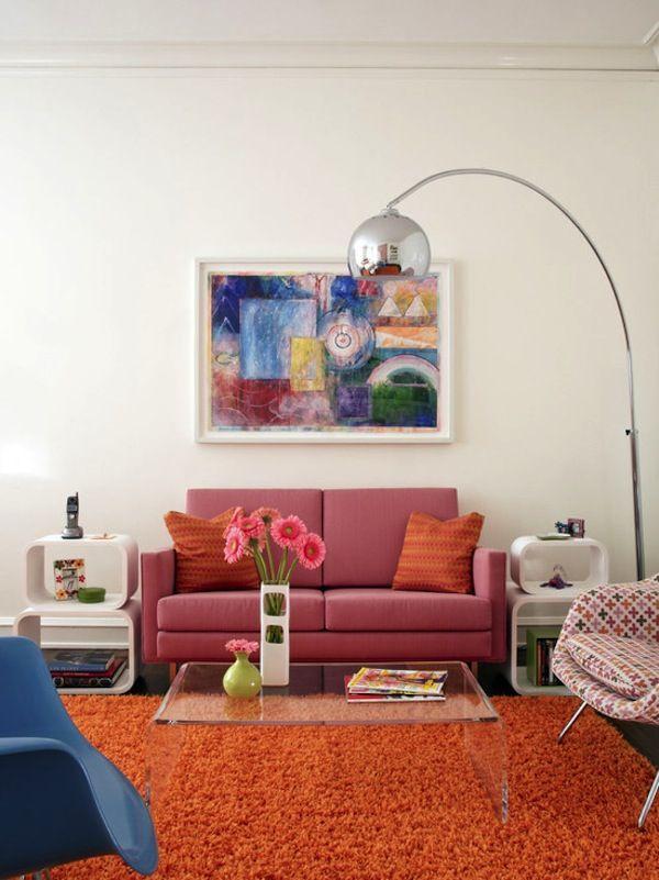 Atomic Interiors | Living Rooms | Retro living rooms, Living room ...