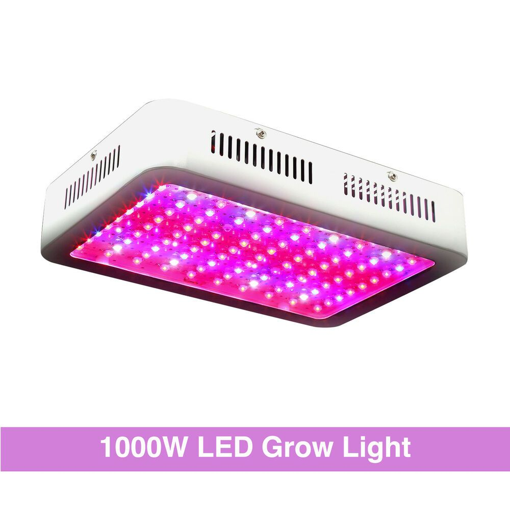 1000w Led Grow Light Panel Full Spectrum For Indoor Plants Plant Lamp Panel Led Grow Lights Led Grow Grow Lights