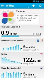 Withings Quantified Self Health App How To Stay Healthy