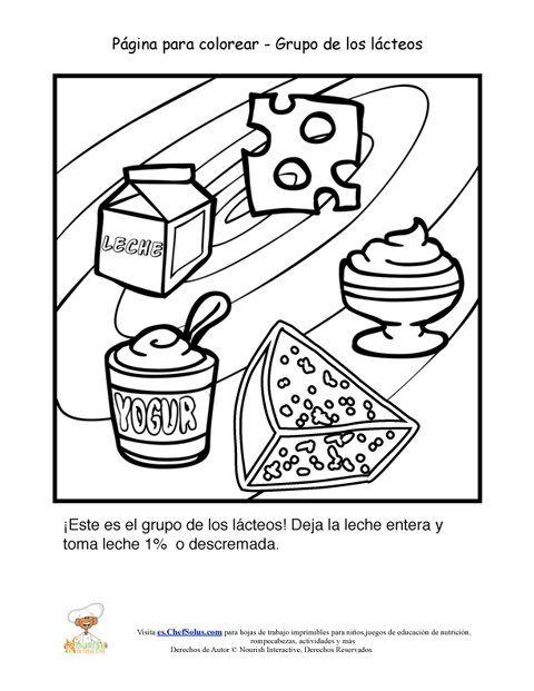 Resultado de imagen para pirámide de alimentos para colorear ...