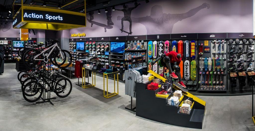 Sun & Sand Sports, Dubai, U.A.E. Retail design, Sports