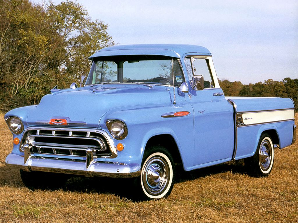 1957 Chevy Truck Classic Pickup Trucks Chevy Trucks 57 Chevy
