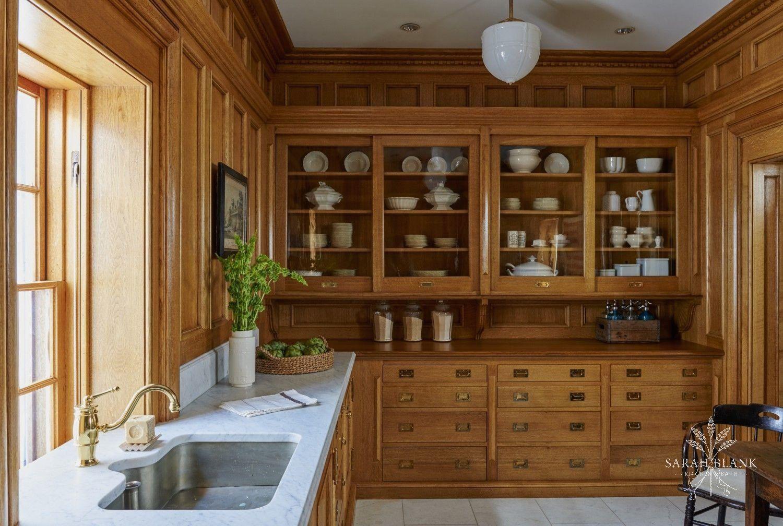 Quarter Sawn Rift White Oak American style kitchen ...