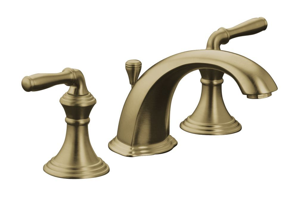 Devonshire Widespread Lavatory Faucet In Vibrant Brushed Bronze ...