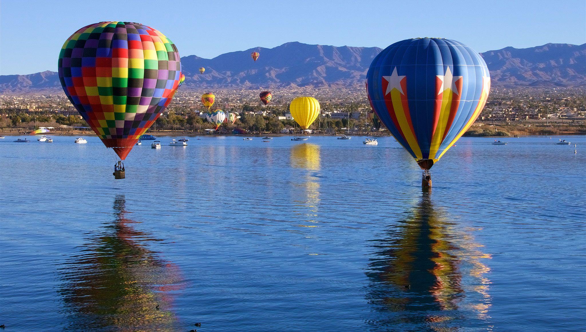 2018 Havasu Balloon Festival and Fair Balloon festivals