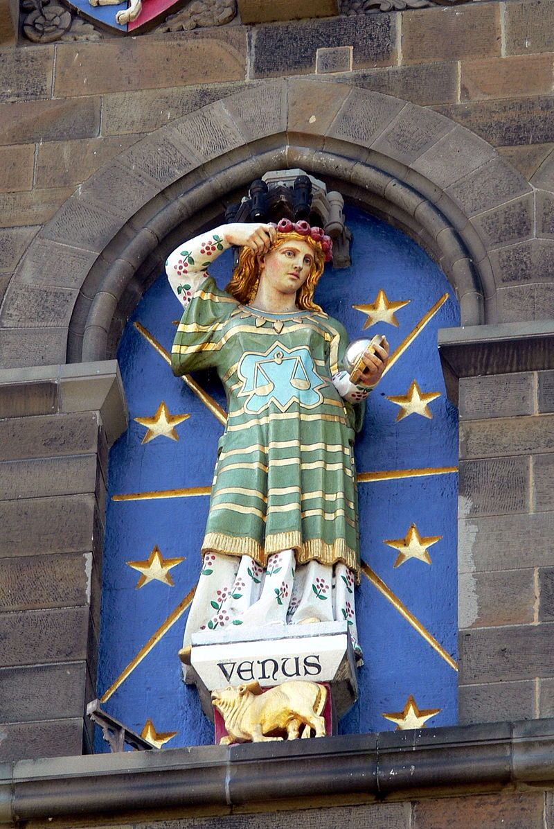 Libra Wikipedia Cardiff Castle Turm 3 Venus Planets In Astrology Wikipedia