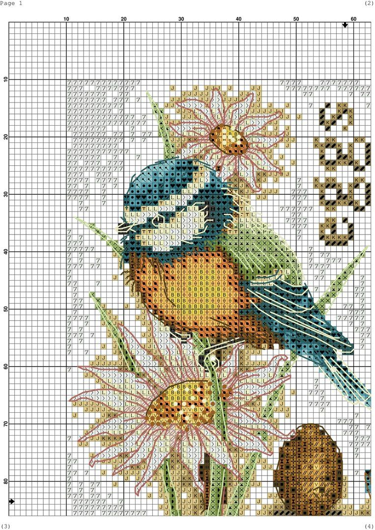 Vyshivanie Krestikom Vk Cross Stitch Animals Cross Stitch Bird Cross Stitch Embroidery