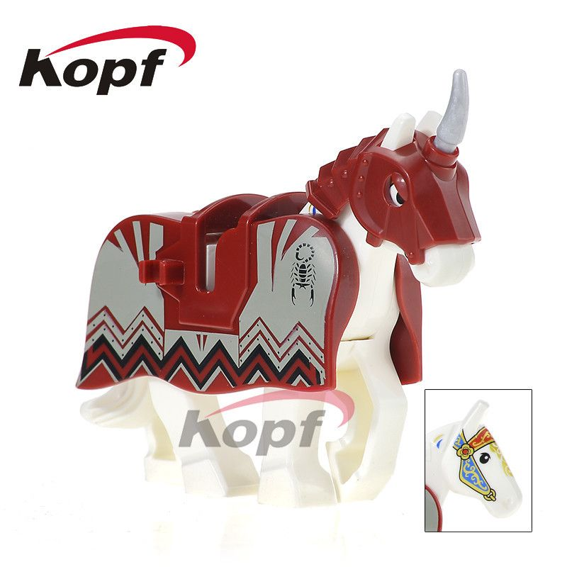 >> Click to Buy << Single Sale Knight Horse The Lord of the Ring Medieval Rome Knight Building Blocks Super Heroes Bricks Toys for children XH 601 #Affiliate