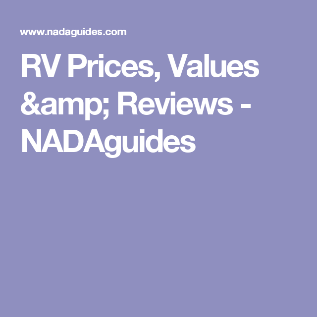 Research The Latest Rv Prices Book Valueotorhome Msrp For All Manufacturers