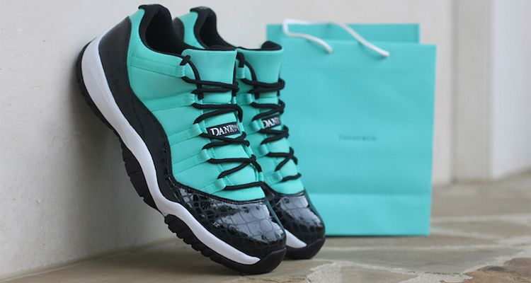Air+Jordan+11+Low+Tiffany+Custom+by+Dank+Customs  eca2b48dd