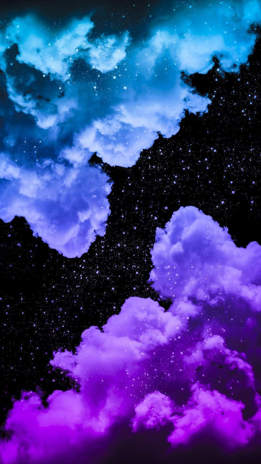 Smoke Star Clouds - iPhone Wallpapers