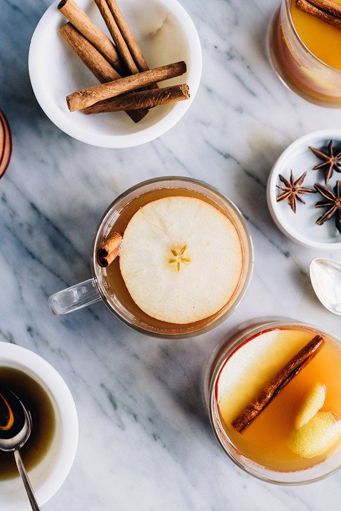 This apple cider hot toddy fall cocktail recipe is warm, soothing, sweet and spicy. It's a seasonal cocktail recipe that will warm you from head to toe.