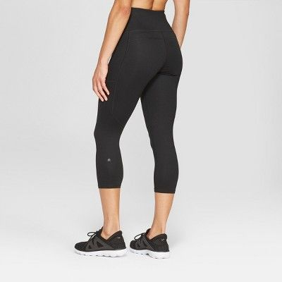 bc96ff0dde Women's Studio High-Waisted Capri Leggings 20 - C9 Champion Black Xxl