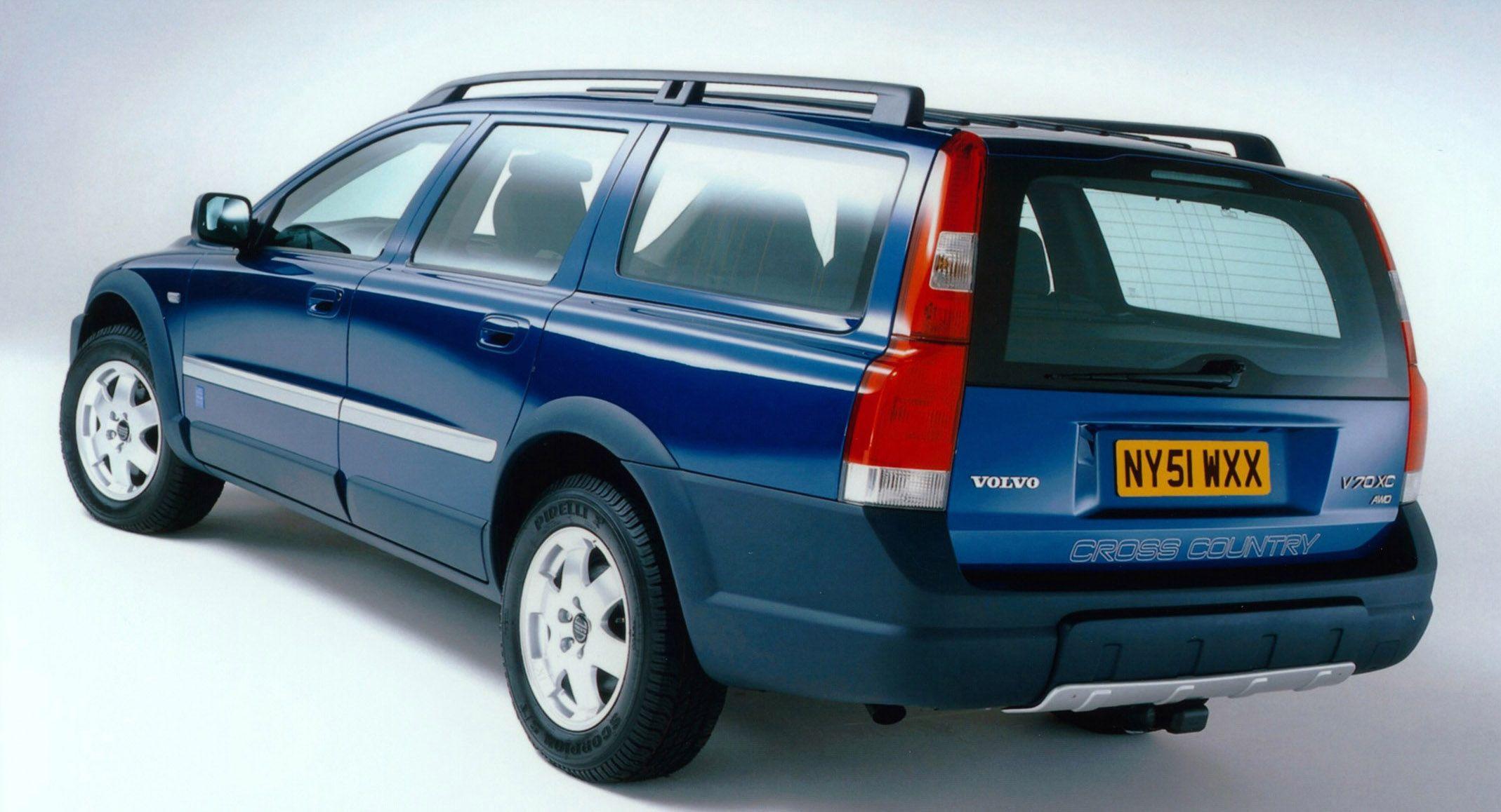 Volvo v70 xc cross country ocean race edition 2001
