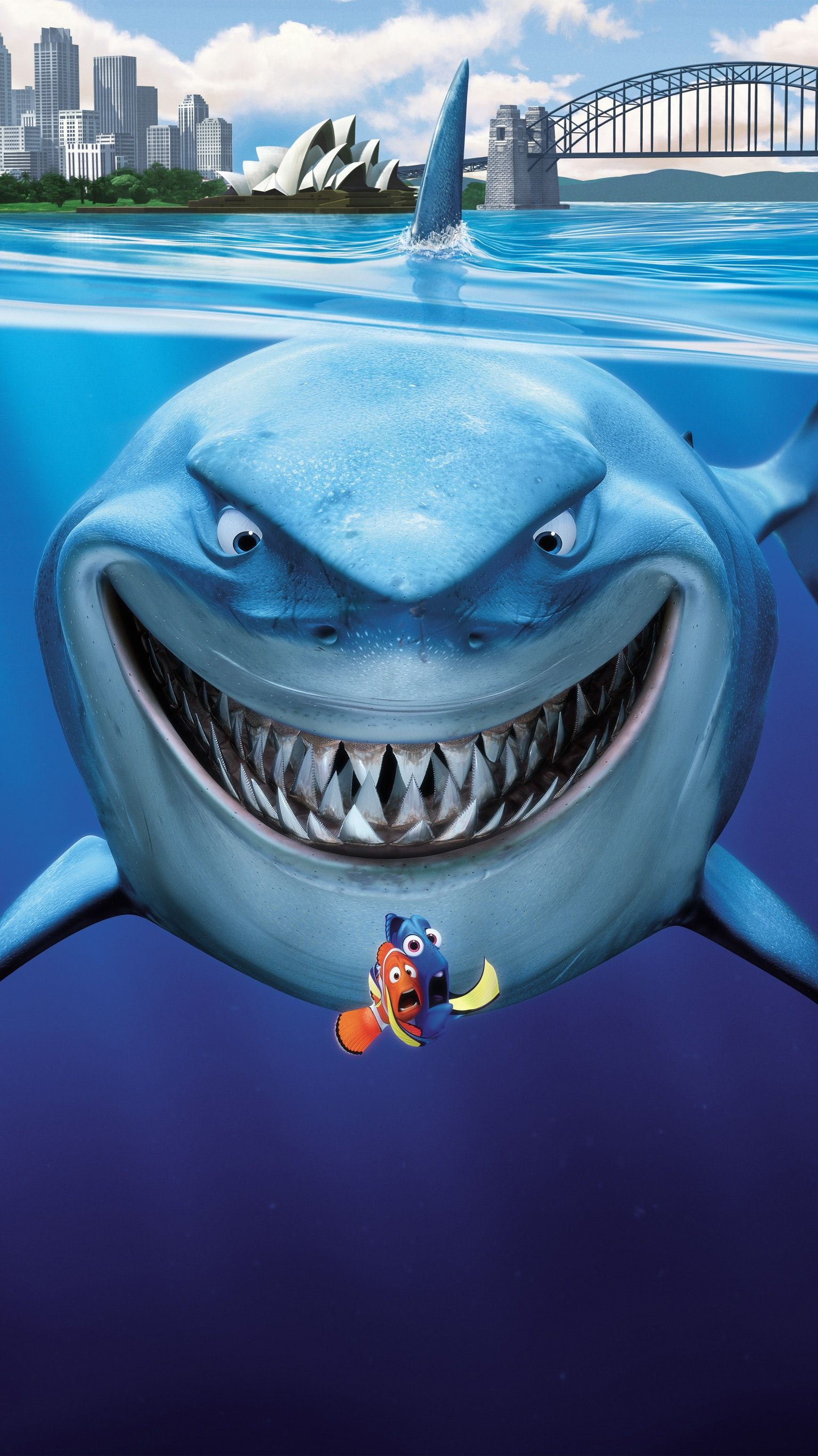 Finding Nemo (2003) Phone Wallpaper in 2020 Finding nemo