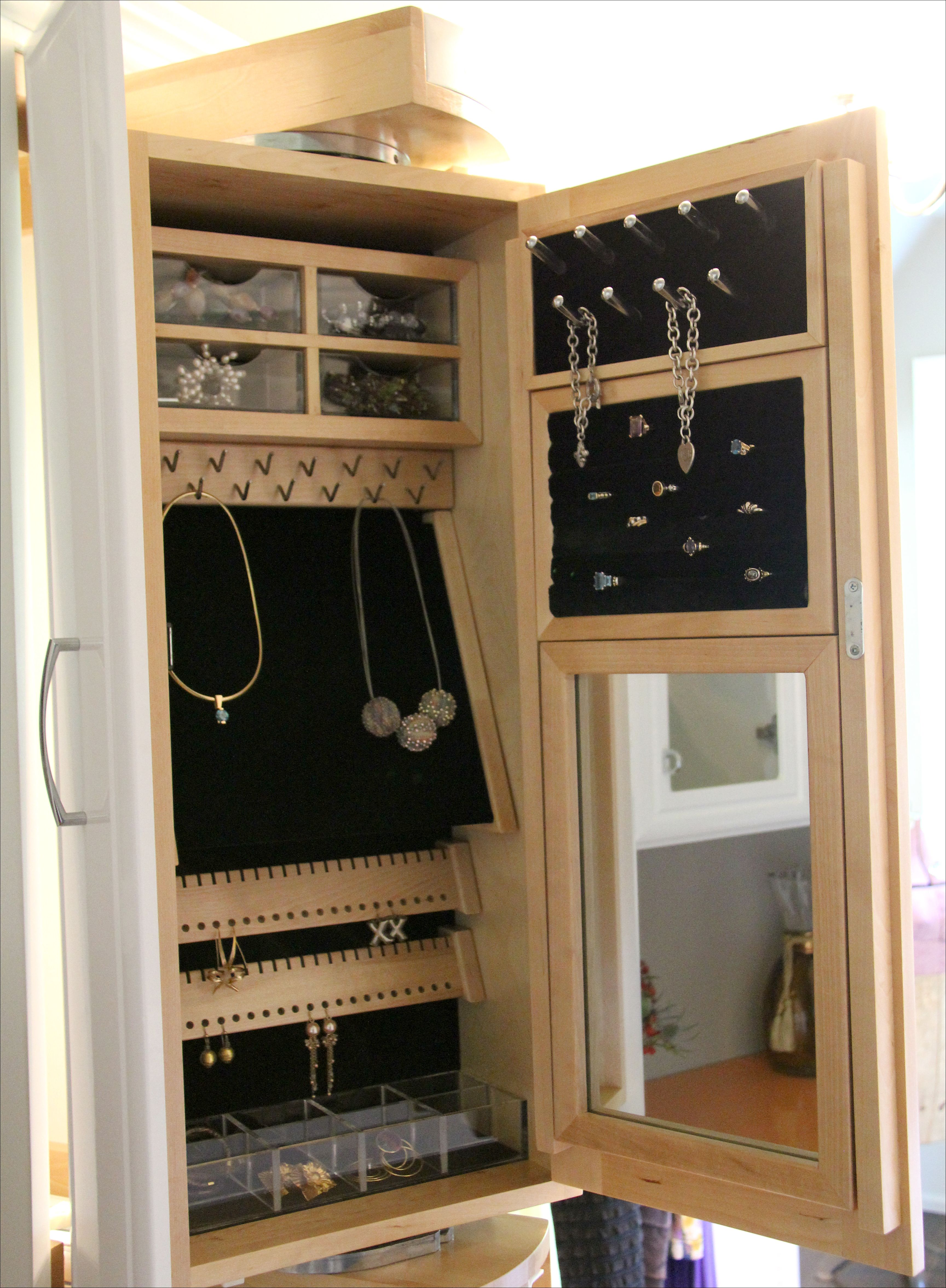 jewelry ideas armoires hives home of today hutch landry amp honey shipping free armoire design luxury walnut elegant