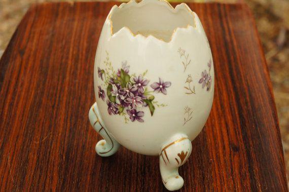 Vintage 40s handpainted floral porcelain egg by sycamorevintage vintage 40s handpainted floral porcelain egg by sycamorevintage easter gifteaster negle Gallery