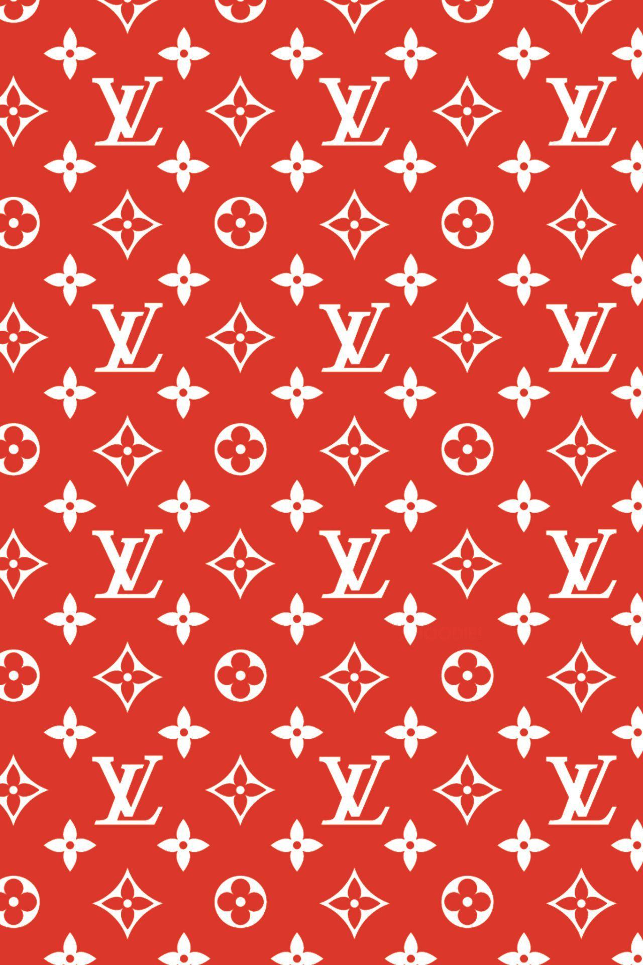 Louis Vuitton Wallpaper Red : louis, vuitton, wallpaper, Supreme, Wallpaper, Tumblr#supreme, #tumblr, #wallpaper, Monogram, Wallpaper,, Louis, Vuitton, Iphone