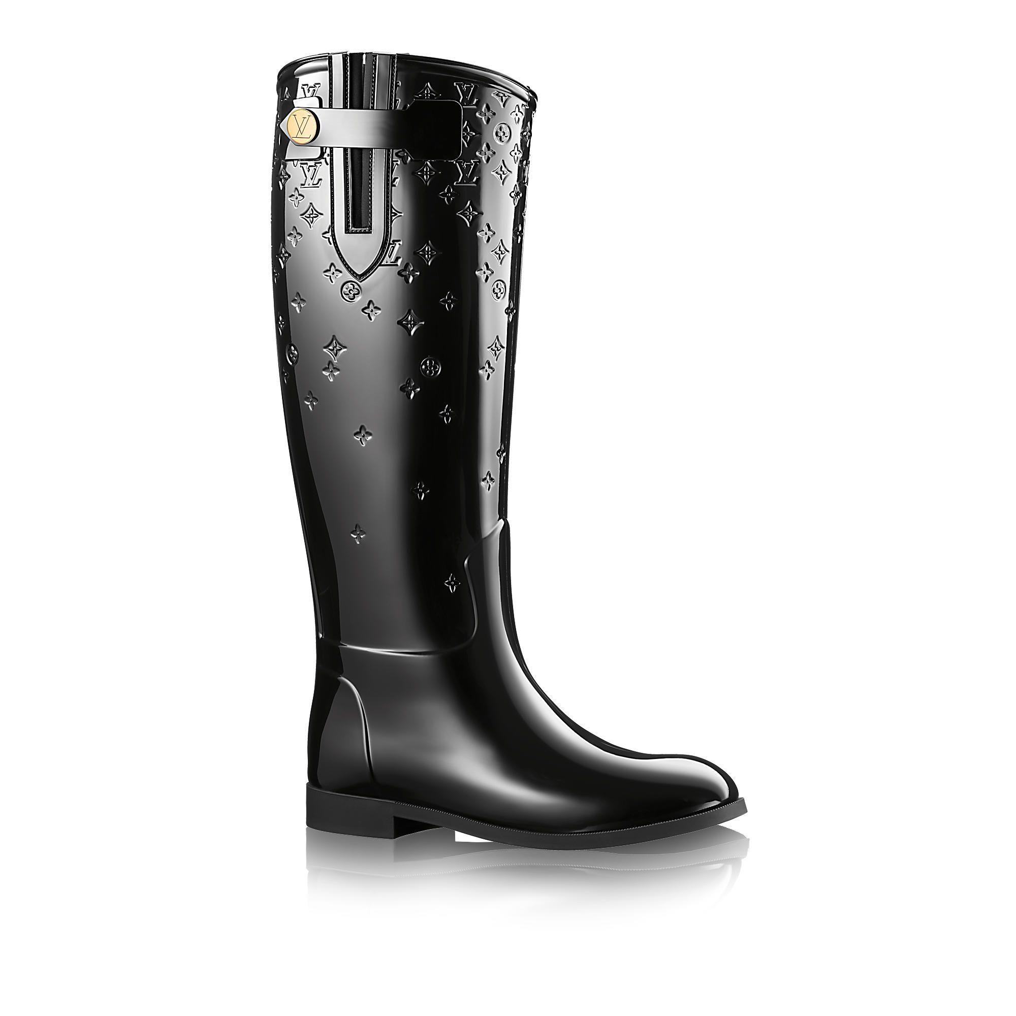 Louis vuitton rain boots