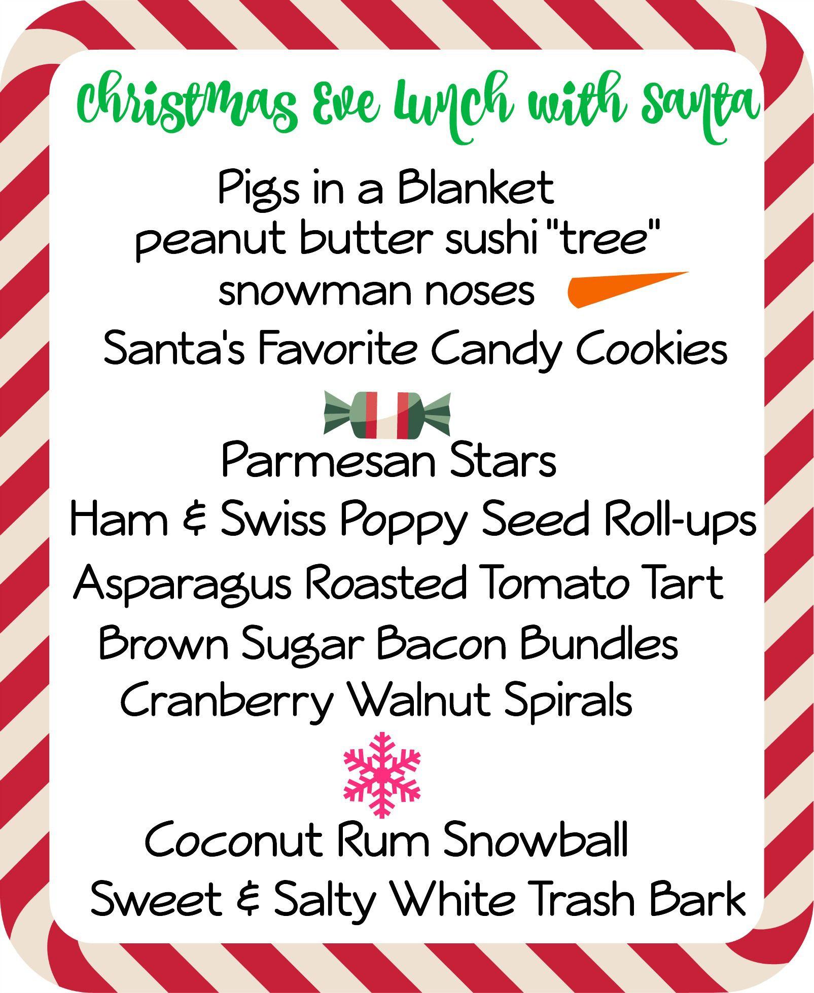 Xmas menu 2   Christmas party   Pinterest   Christmas eve, Xmas and Menu