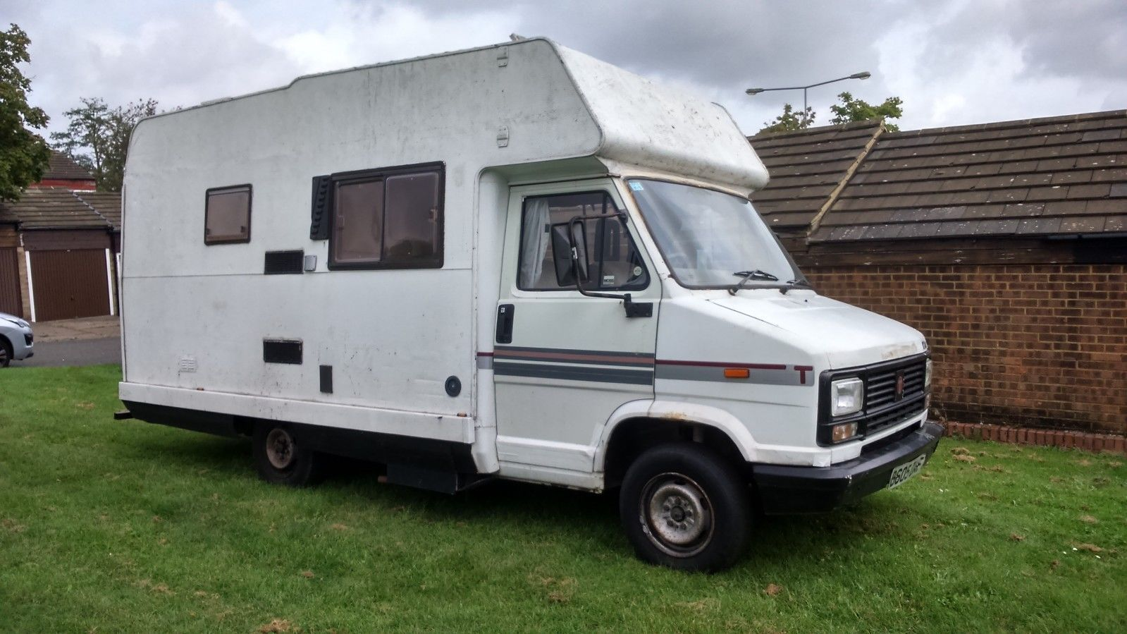 1985 Talbot Express Petrol 5 Berth Camper Motorhome Project Spares Or Repairs