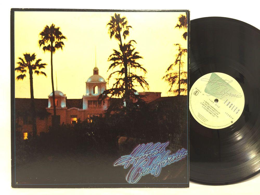 Eagles Hotel California 7e 1084 Lp Vinyl Record Vinyl Records Eagles Hotel California Vinyl Records Asylum Records