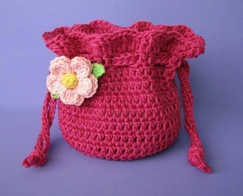 Estuches a Crochet | Telarines | Pinterest | Bolsa de aseo ...