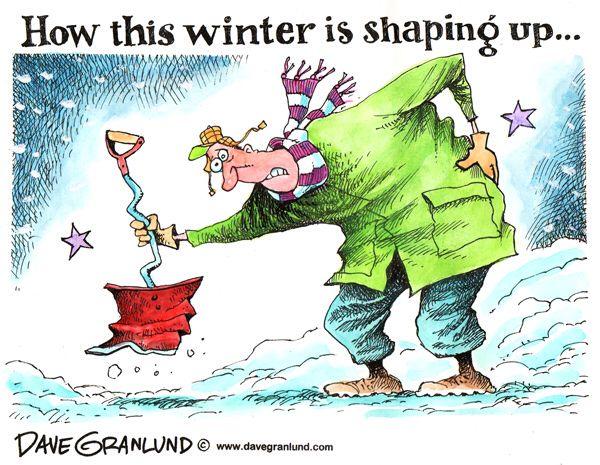 winter snow shovel editorial cartoon winter brrrrrr s pinterest