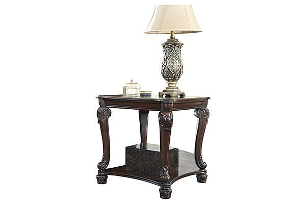 Best The Norcastle End Table From Ashley Furniture Homestore 400 x 300