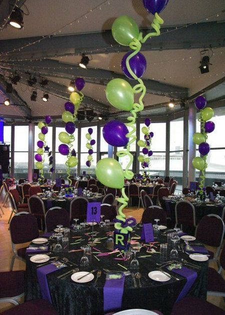 Balloon art for 80th birthday decorations see more for 80 birthday party decoration ideas